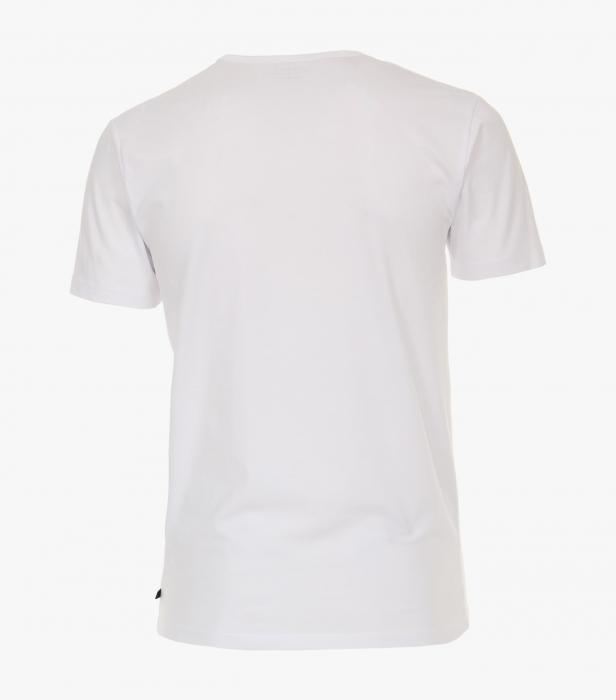 Set 2buc x Tricou anchior barbati VENTI alb [1]