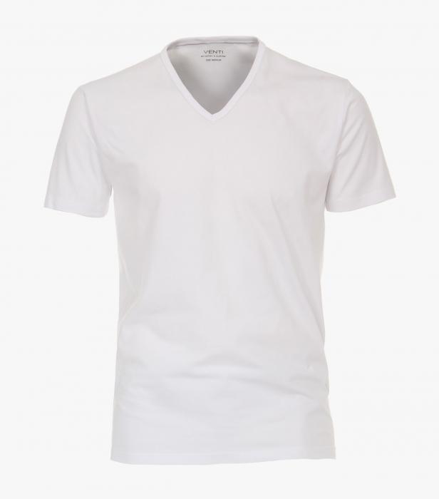 Set 2buc x Tricou anchior barbati VENTI alb [0]