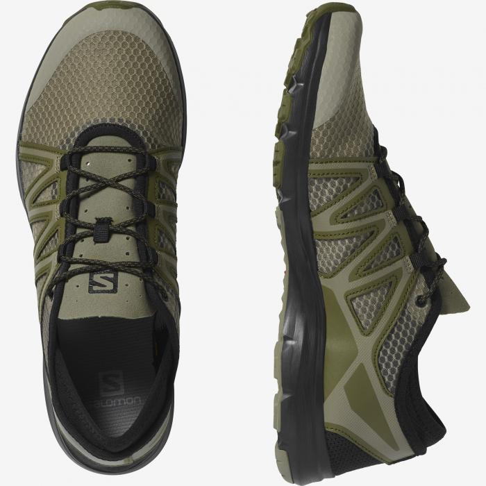 Pantofi outdoor barbati SALOMON Crossamphibian Swift2 oliv [6]