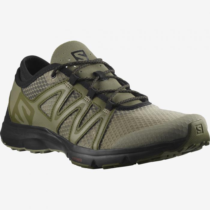 Pantofi outdoor barbati SALOMON Crossamphibian Swift2 oliv [1]