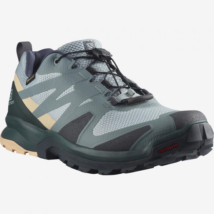 Pantofi outdoor femei SALOMON XA ROGG GTX gri [1]