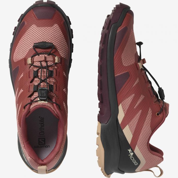 Pantofi outdoor femei SALOMON XA ROGG caramiziu [6]