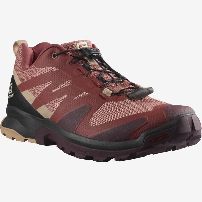 Pantofi outdoor femei SALOMON XA ROGG caramiziu [1]