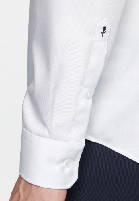 Cămașă business bărbați Seidensticker Shaped Not Iron alba twill [5]