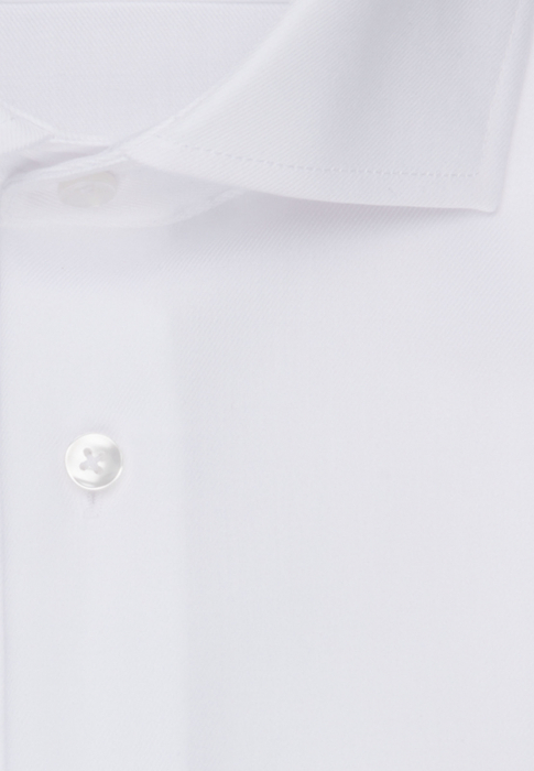 Cămașă business bărbați Seidensticker Shaped Not Iron alba twill [1]