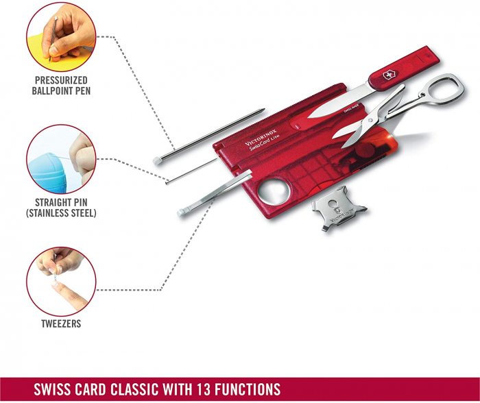 Card multifunctional VICTORINOX rosu VX0.7300.T [1]