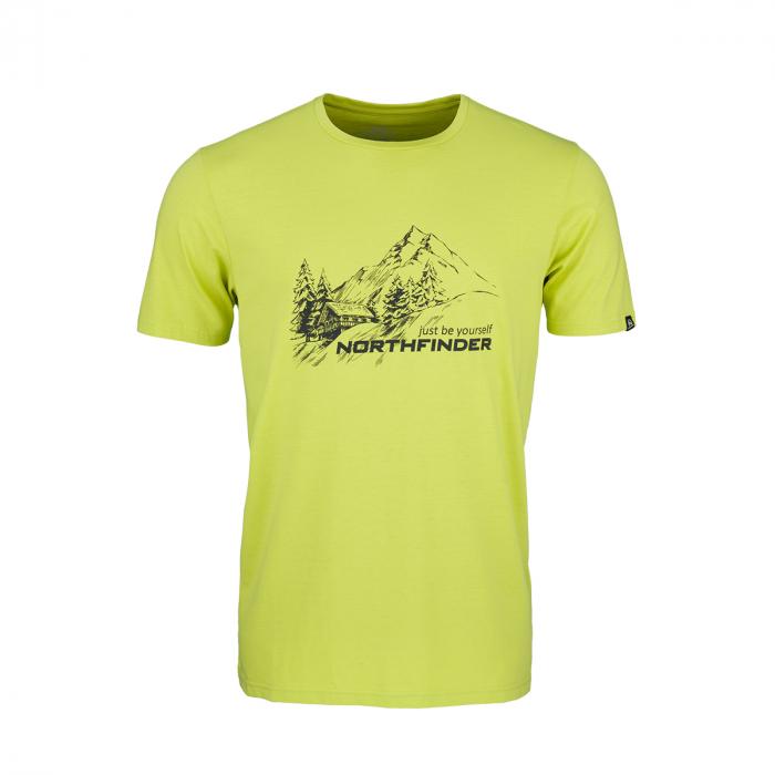 Tricou barbati NORTHFINDER SHANE verde [0]