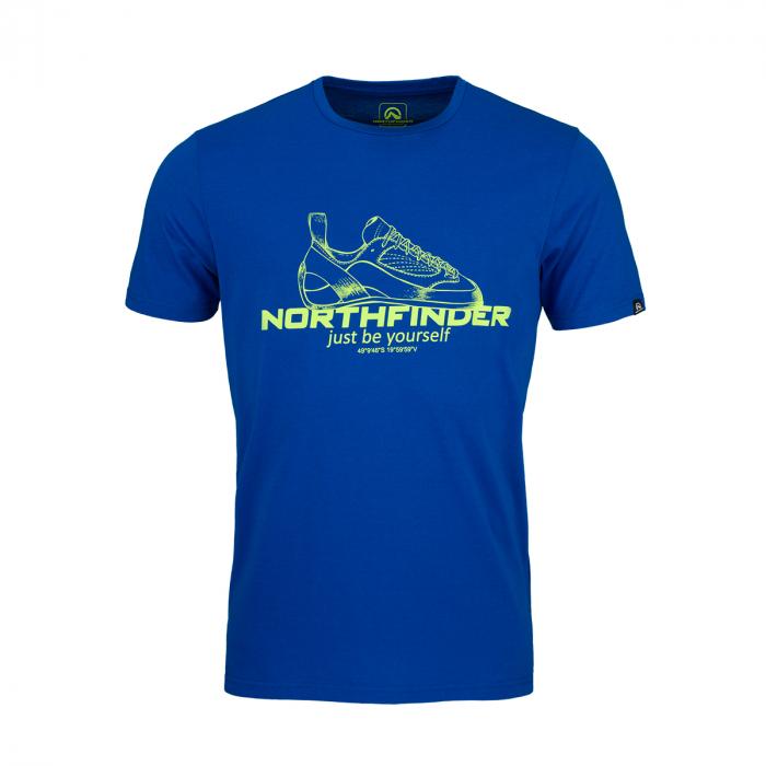 Tricou barbati NORTHFINDER ALLAN albastru [0]