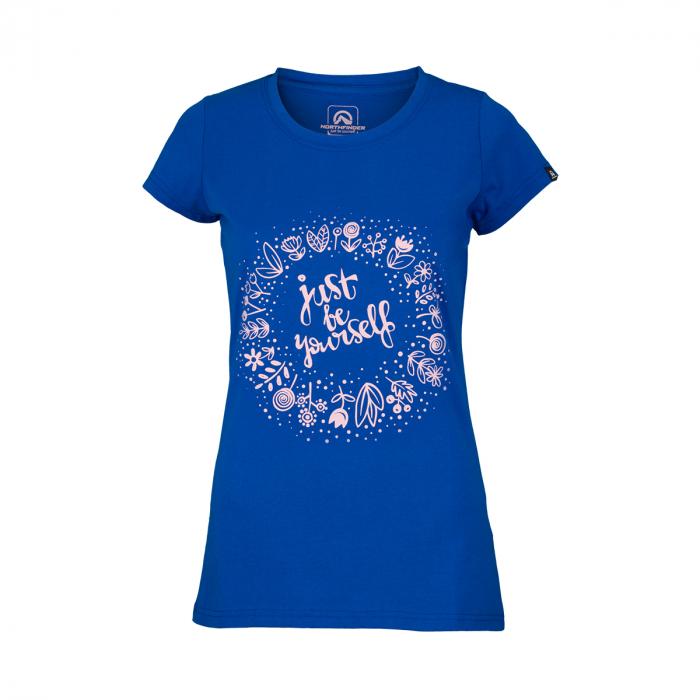 Tricou femei NORTHFINDER Kyndal albastru [0]