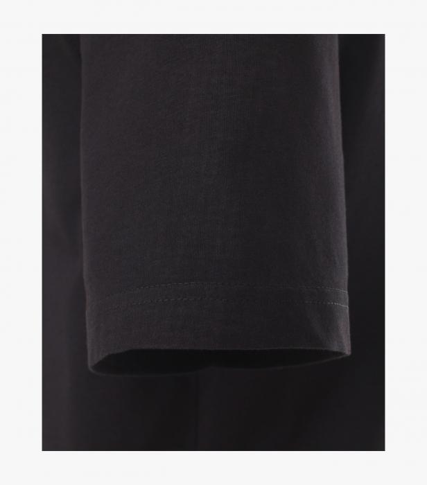 Tricou bumbac anchior barbati CASA MODA negru - set 2 bucati [3]