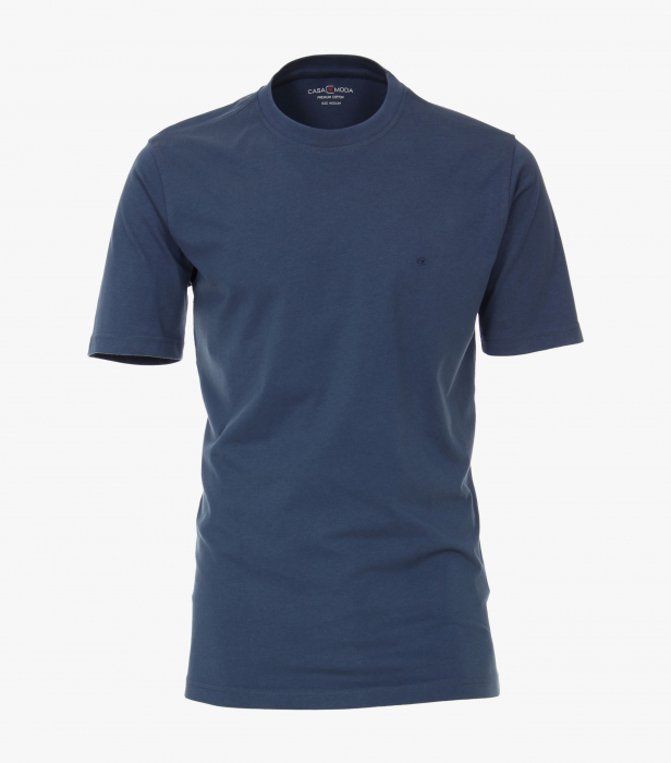 Tricou bumbac barbati CASA MODA bleumarin [0]