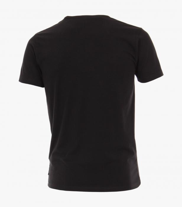 Set 2buc x Tricou barbati VENTI negru [1]