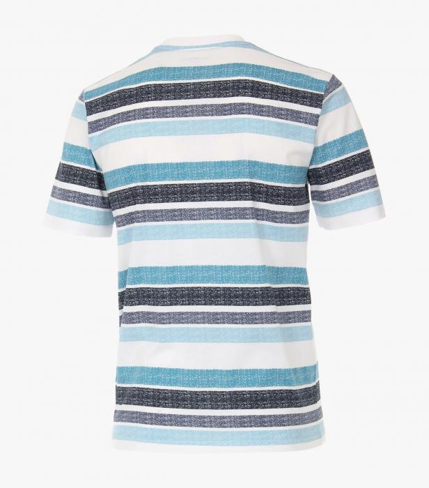 Tricou bumbac barbati CASA MODA albastru print surf [1]