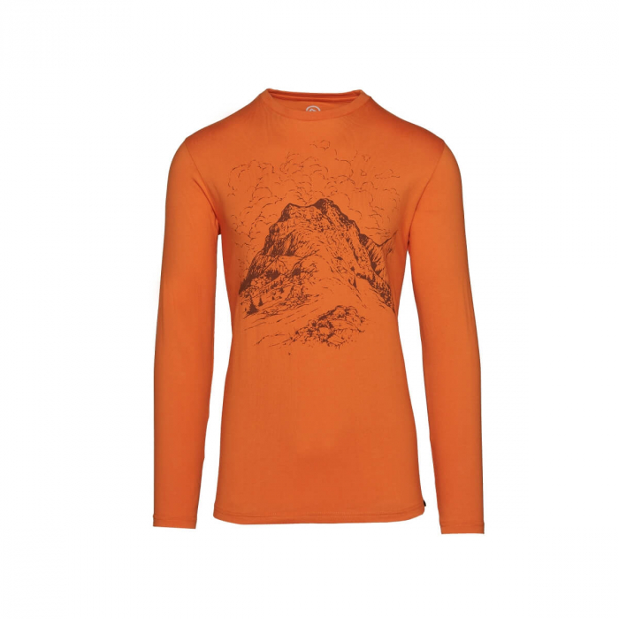 Tricou barbati bumbac NORTHFINDER Vastyn portocaliu [0]
