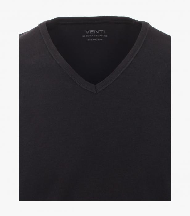 Set 2buc x Tricou anchior barbati VENTI negru [2]