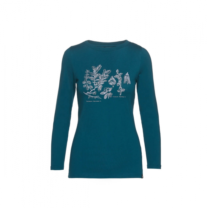Tricou femei bumbac NORTHFINDER Rodzesa albastru [0]