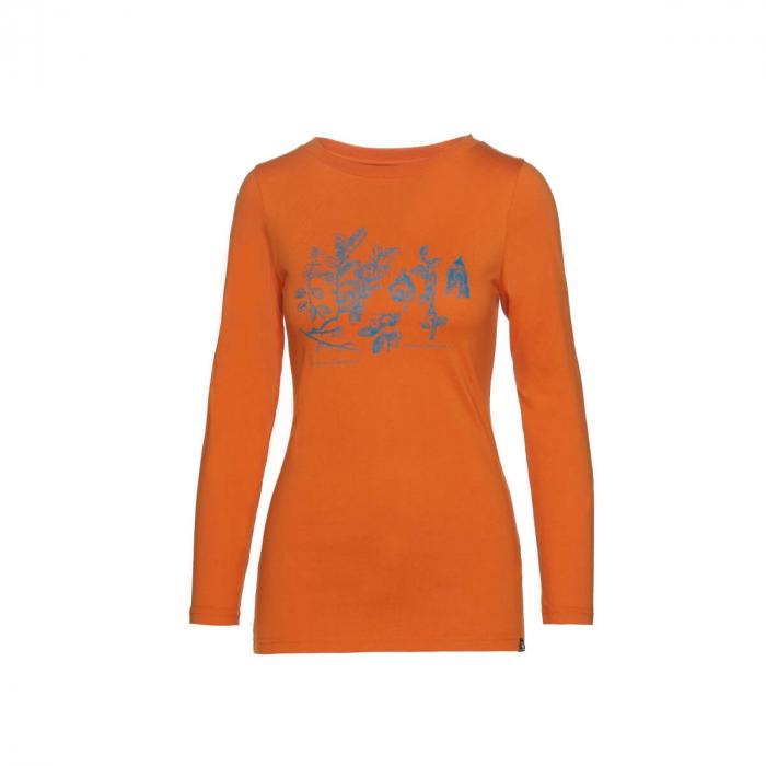 Tricou femei bumbac NORTHFINDER Rodzesa portocaliu [0]