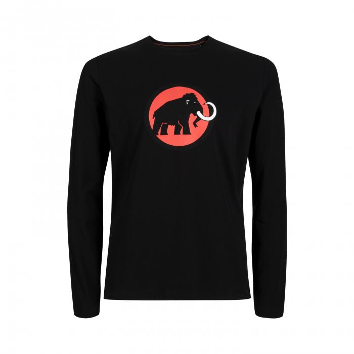 Tricou maneca lunga barbati Mammut Logo black [0]