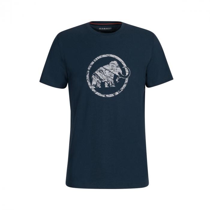 Tricou maneca scurta barbati Mammut Logo marine [0]