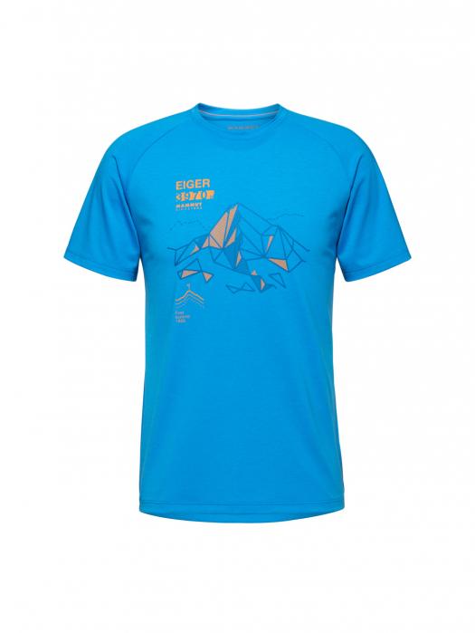 Tricou drumetie barbati MAMMUT Mountain Drirelease® albastru [0]