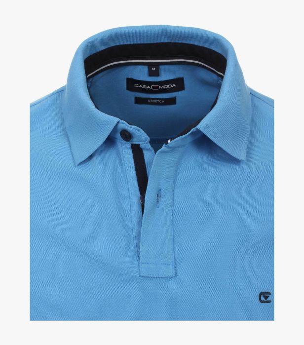 Tricou polo barbati CASA MODA uni albastru [2]