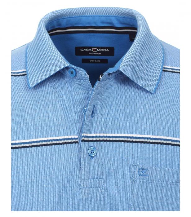 Tricou polo barbati CASA MODA albastru dungi 913578100/102 [1]