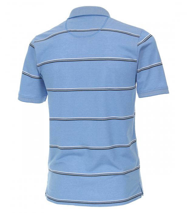 Tricou polo barbati CASA MODA albastru dungi 913578100/102 [2]