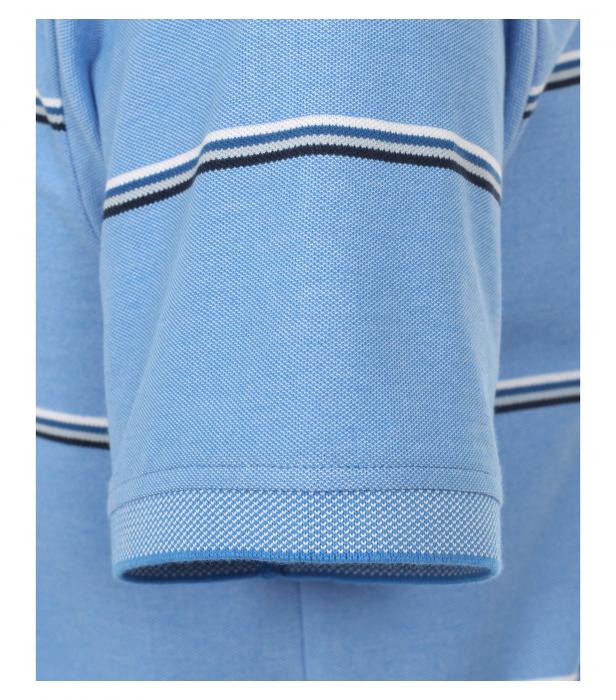 Tricou polo barbati CASA MODA albastru dungi 913578100/102 [3]