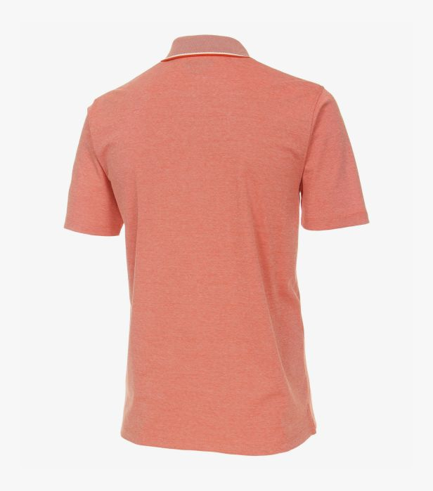 Tricou polo barbati CASA MODA uni portocaliu cu buzunar [1]