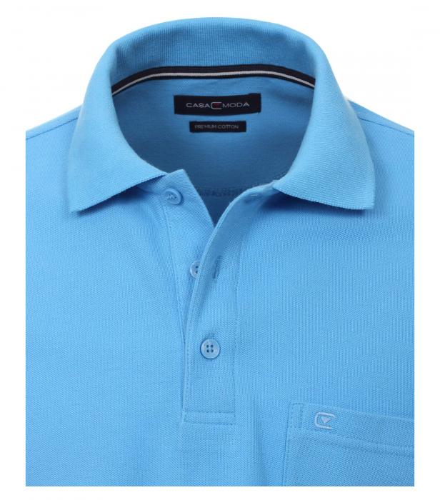 Tricou polo CASA MODA barbati bleu [2]