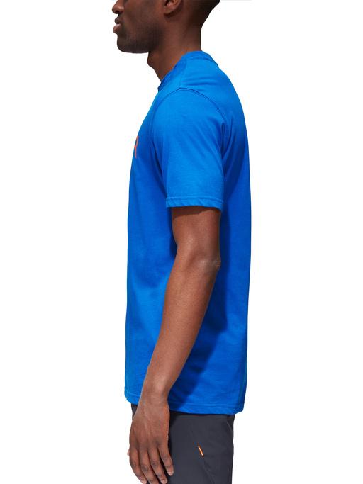 Tricou bumbac organic barbati MAMMUT Seile albastru [2]