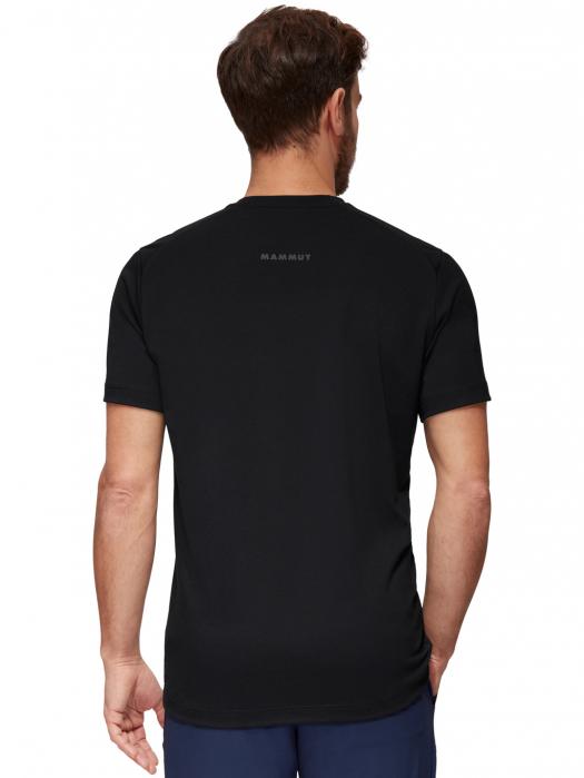 Tricou drumetie barbati MAMMUT Trovat Drirelease® negru [2]
