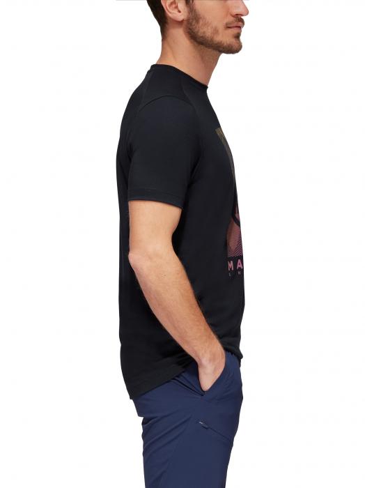 Tricou drumetie barbati MAMMUT Trovat Drirelease® negru [3]