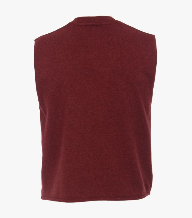 Vesta tricotata cu nasturi barbati CASA MODA visinie [1]