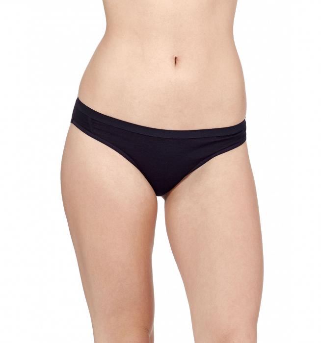 Bikini merino femei ICEBREAKER Siren negri [1]