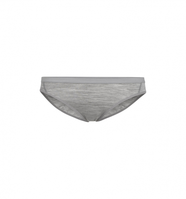 Bikini merino femei ICEBREAKER Siren gri [0]
