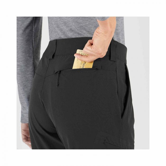 Pantaloni drumetie femei SALOMON WAYFARER negru [6]