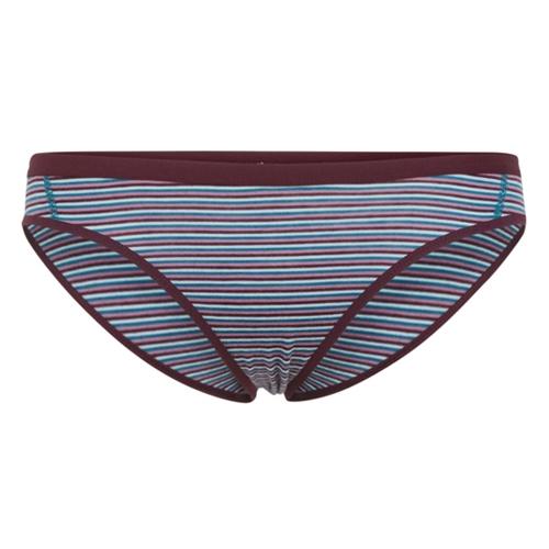 Bikini merino femei ICEBREAKER Siren VEL/Dew/Stp [0]