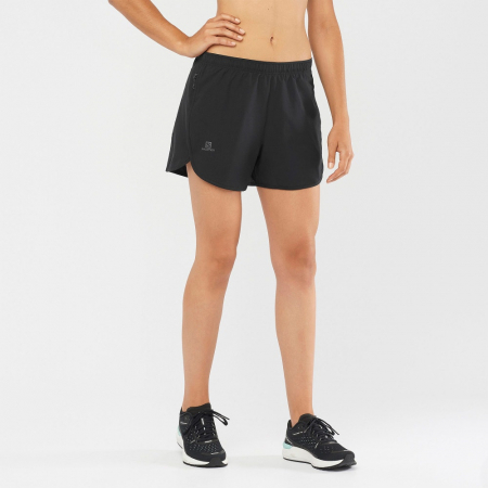 Short alergare femei SALOMON AGILE negru [1]