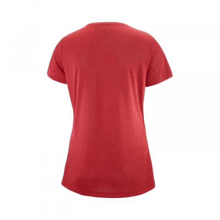Tricou sport femei SALOMON AGILE rosu [2]