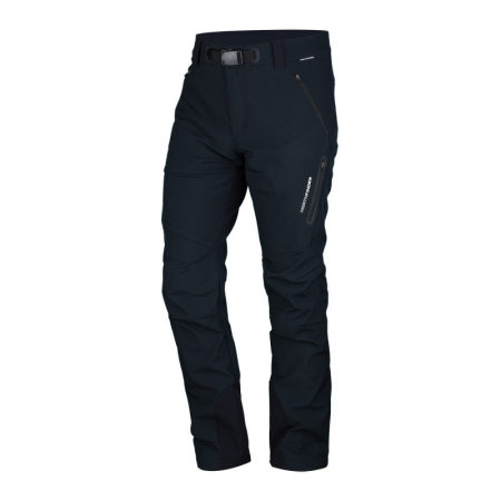 Pantaloni softshell 3L barbati  NORTHFINDER JAVON negru [0]