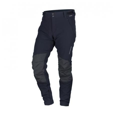 Pantaloni outdoor stretch barbati NORTHFINDER RAUL negru [0]