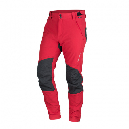Pantaloni outdoor stretch barbati NORTHFINDER RAUL rosu [0]