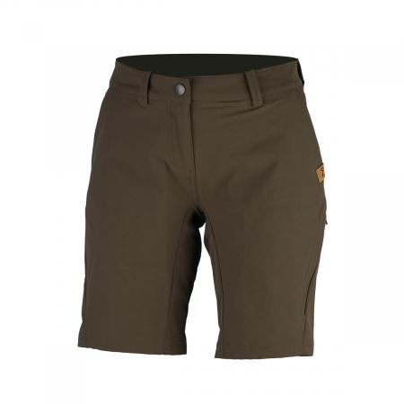 Pantaloni scurti outdoor femei NORTHFINDER Tabitan maro [0]