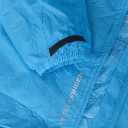 Jacheta impermeabila femei NORTHFINDER NORTHKIT albastra [4]
