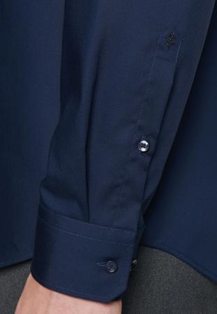 Cămașă business bărbați poplin Seidensticker Slim Not Iron bluemarin [5]