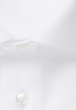 Cămașă business bărbați Seidensticker Shaped Not Iron alba structurata [7]