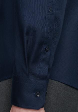 Cămașă business bărbați Seidensticker Shaped Not Iron bluemarin structurata [3]