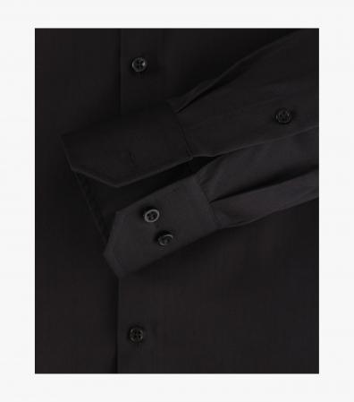 Camasa bumbac NON IRON barbati VENTI Modern Fit neagra [3]