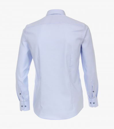 Camasa bumbac barbati VENTI Modern Fit albastra [1]